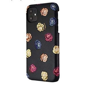 Coach Printed Leather Slim Wrap Case for iPhone